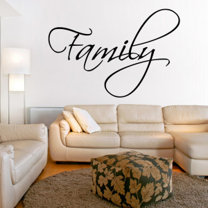 for walls – tweet family wall sticker quote wall stickers from abode ...
