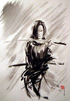 samurai painting More