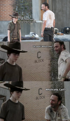 "Carl!"" – 30 'Dead' Funny Reasons Why The Classic Walking Dead ..."