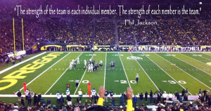Good game day quote and good life quote!