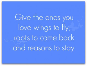 Love Quote – Wings To Fly