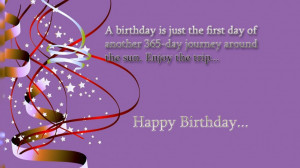 Quotes Collection » Happy Birthday To You And Wish You All The Best ...
