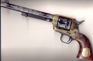 Arizona state gun? It's going to be a Colt revolver.