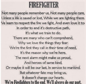 Fire Life, Female Firefighters, Firefighters Wife, Firefighters Quotes ...