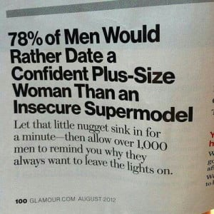Aww...good to know! Fact!! Be confident girls!!