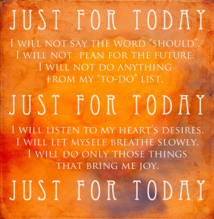 Just For Today Na Quotes #recovery #na just for today · found on ...