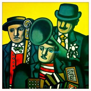 Musicians (Fernand léger): Musicians Fernand, Light Fernand