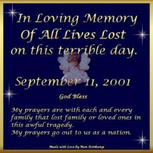 11 Remembered 10 year Anniversary