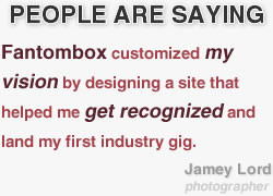 Fantombox customized my vision by designing a site that helped me get ...