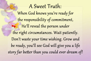 When God Knows You're Ready For The…, Better, Dream, God, Grow ...