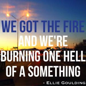 Ellie Goulding /// Burn