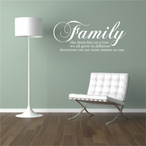 wall sticker quotes for living rooms, wall sticker quotes family, wall ...