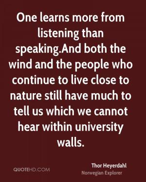 Thor Heyerdahl Nature Quotes
