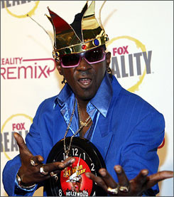 Flavor Flav (real name William Drayton Jr.), 47, founded the hip-hop ...