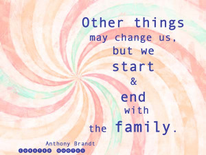 The family – that dear octopus from whose tentacles we never quite ...