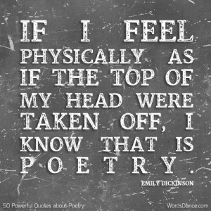 50 Powerful Quotes about Poetry