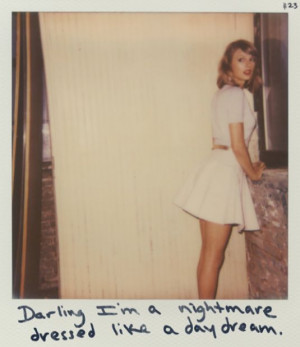 TAYLOR SWIFT – 1989 Album Polaroids