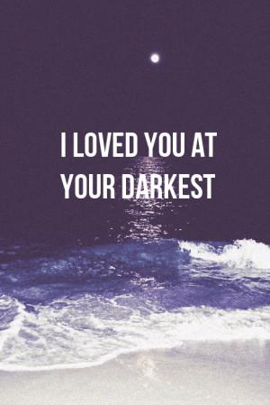 quote #dark quote #dark quotes #love