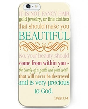 Iphone 4.7 Inch Case - Be Strong and Couragerous for the Lord,your God ...