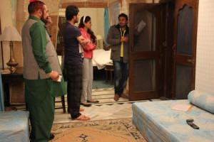 Star Cast Shooting Photos From Upcoming Punjabi Comedy movie Aashiqui ...
