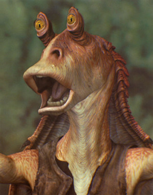 ... text from English to Gungan to see how Jar-Jar Binks would say it