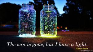 Wallpaper Kurt Cobain Light Quotes