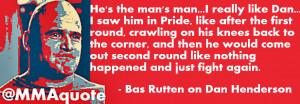 Bas Rutten on Hendo: