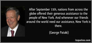 from across the globe offered their generous assistance to the people ...