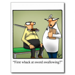 Funny Medical Appointment/Reminder Postcard