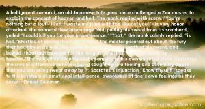 Japanese Samurai Quotes