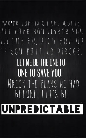 5SOS lyrics Unpredictable
