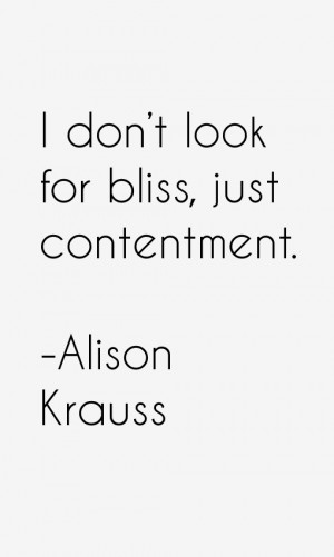 Alison Krauss Quotes amp Sayings