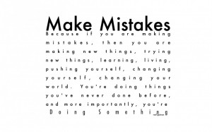 Make Mistakes Is No Problem When You Still Love Me