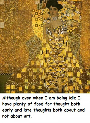 Gustav Klimt's Quotes