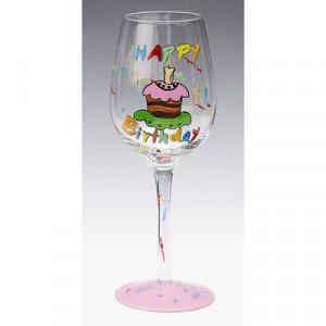 wine glass happy birthday drinkware $ 18 00 happy birthday wine glass ...