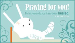 Pray for Healing Ecard