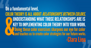 Color theory quote