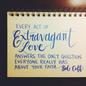 ... the only question everyone really has about your faith.