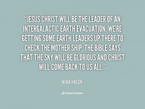 Jesus Leadership Quotes