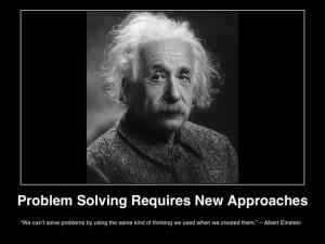 quotes einstein problem solving