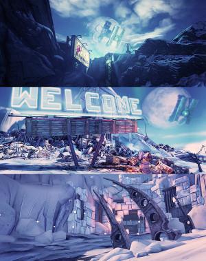 gaming borderlands borderlands 2 long post game scenery borderlands ...