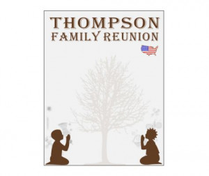 African American Family Reunion Templates