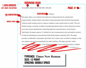 Format the Abstract Page in APA Style, 6th Edition