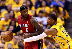 Miami Heat vs. Indiana Pacers–2014 NBA Playoffs Eastern Conference
