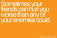 Friendship Hurt Quotes Quotes, sayings, friends,