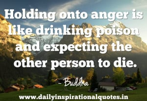 ... Poison and Expecting the other Person to Die ~ Inspirational Quote