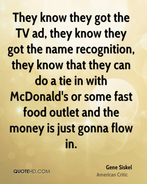 Fast Food Quotes Funny