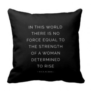 Quotes Strength Quote Throw Pillows