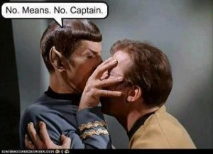 """1982 """"The Wrath of Khan' ~ """"You are my superior officer. You are ..."""