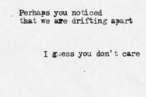 drifting apart drifting apart tumblr